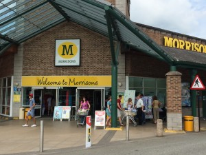 Busy Have Your Say Day at Morrisons
